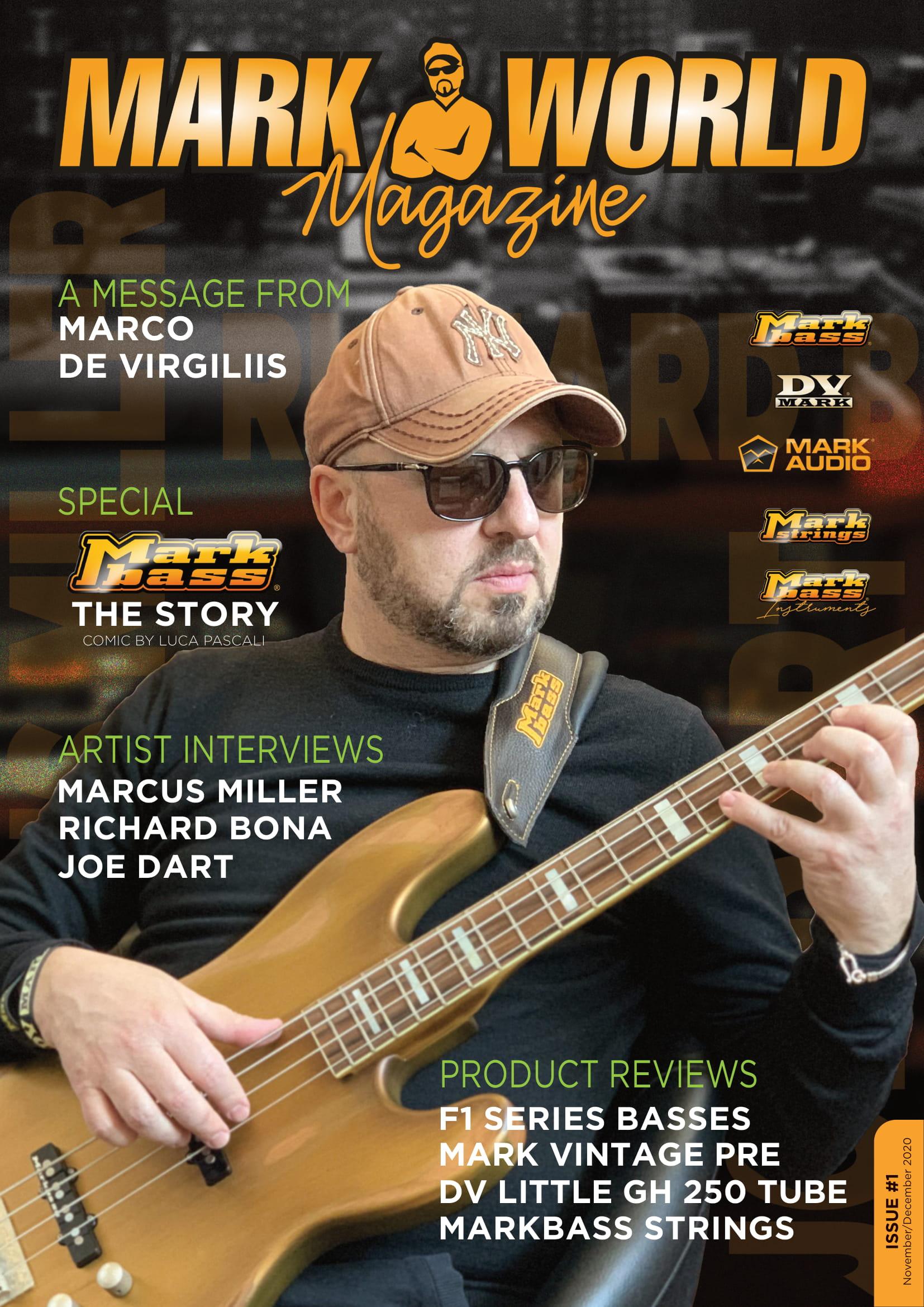 Markbass / DV Mark隆重推出了線上雜誌!