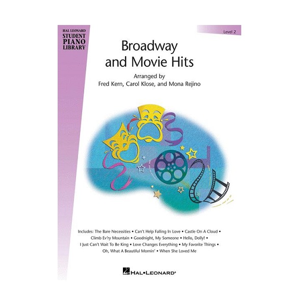 Broadway And Movie Hits - Level 2 Piano