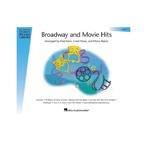 Broadway And Movie Hits - Level 1 Piano